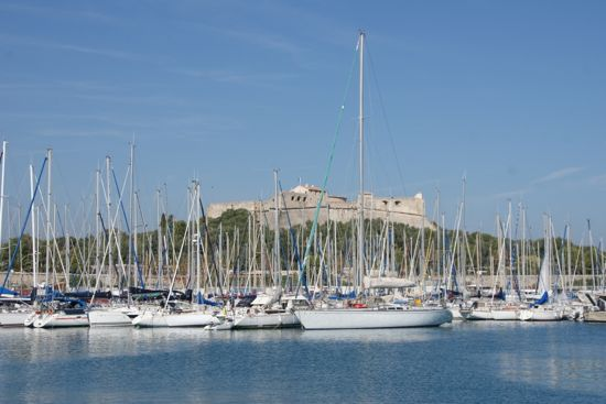 Port Vauban i Antibes