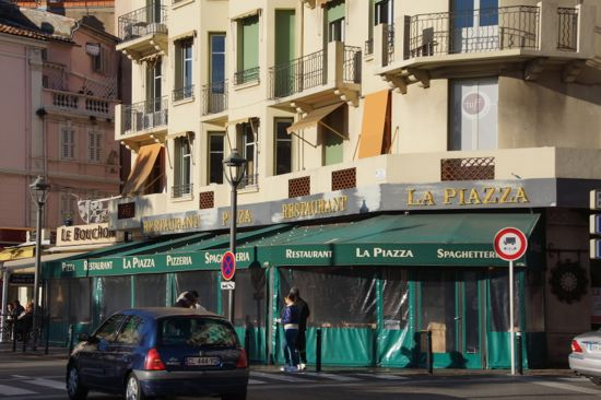 Restaurant La Piazza i Cannes