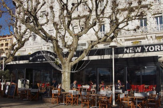 Restaurant New York i Cannes
